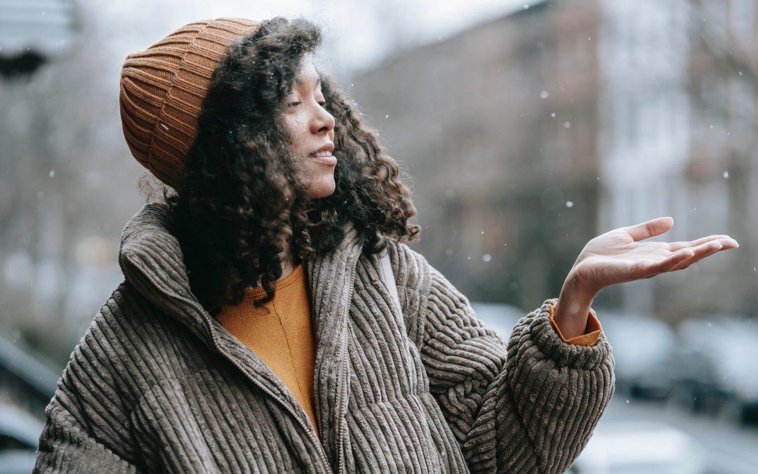 Tips til at bære kjoler om vinteren